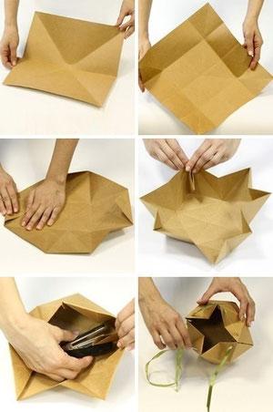 pudełko origami tutorial