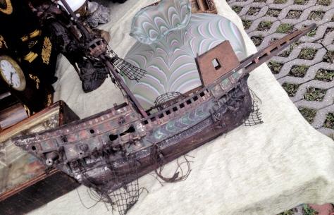 jarmark staroci w Bytomiu statek