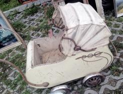 jarmark staroci w Bytomiu wózek