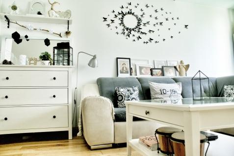 Komoda Ikea Hemnes, na której wciąż zmieniam dekoracje
