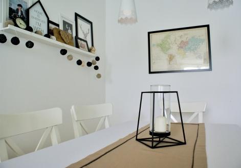 Stół Ingatorp i krzesła Ingolf
