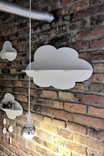 Chmurki na ścianie z cegieł? TAK!