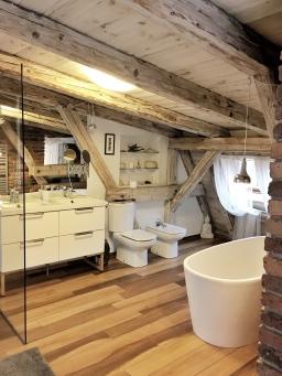 Przepiękna łazienka.