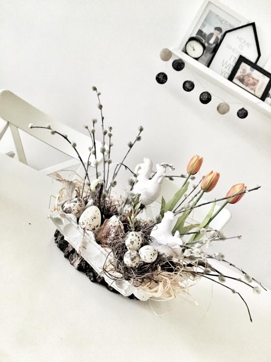 stroik wielkanocny jajka jurki