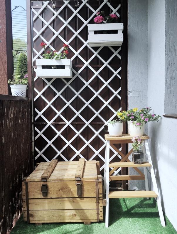 balkon w bloku 4