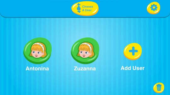 W aplikacji HD Stream mogę sobie wybrać profil dziecka